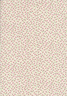 Rose & Hubble - Quality Cotton Print CP-0834 Pink Floral