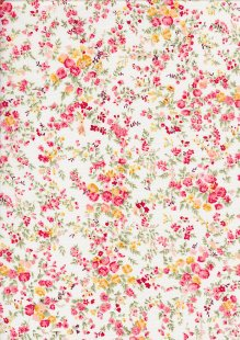 Rose & Hubble - Quality Cotton Print CP-0842 Ivory Floral