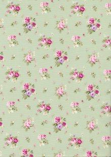 Rose & Hubble - Quality Cotton Print CP-0818 Meadow Floral