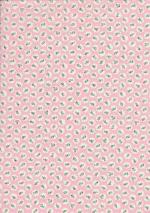 Quality Cotton Print - Pink Floral