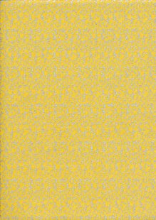 Christmas - Scroll Yellow/Silver