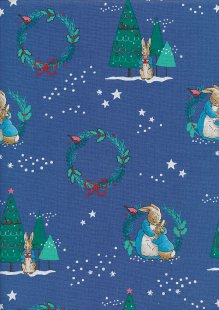 Craft Cotton Co - Beatrix Potter Peter Rabbit Christmas 2