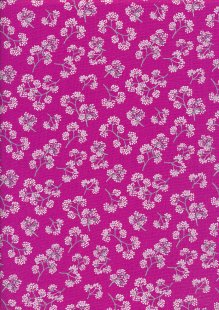 Kanvas Studio - Midnight Pearl 7884-P-26 Midnight Flower Sprigs Pink