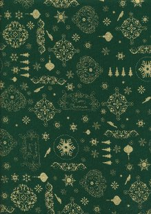 Fabric Freedom - Christmas ff517 col 03