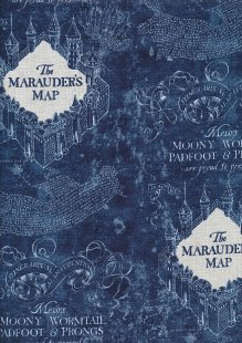 Eugene Textiles - Harry Potter Marauders Map