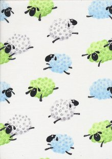 Hamil Textiles - World Of Susie Bee Lewe the Ewe SB20052A-100