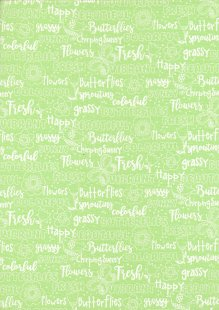 3 Wishes - Hello Spring Text