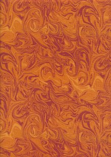 Benartex Marcia Baldwin - Born To Run Orange Swirl 4167-87