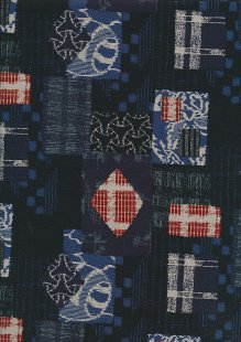 Sevenberry Japanese Fabric - 61380 COL 4