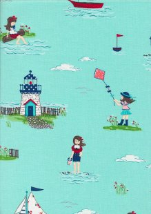 Riley Blake - Seaside C7230 AQUA