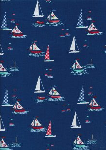 Riley Blake - Seaside C7231 NAVY