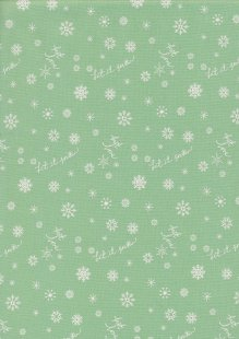 Riley Blake - Winter Tales C7313 Green