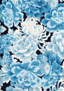 Robert Kaufman Imperial Collection - Indigo SRKM-17665-62