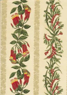 Leesa Chandler - Under The Australian Sun Stripe Red Ivory