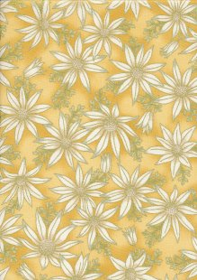 Leesa Chandler - Under The Australian Sun Flannel Flowers Gold