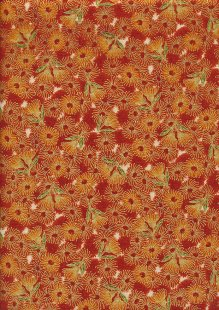 Leesa Chandler - Under The Australian Sun Flowering Gum Orange Multi
