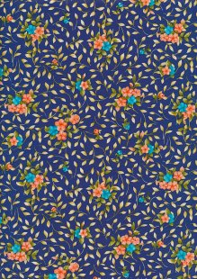 Rose & Hubble - Quality Cotton Print CP0840 Copen