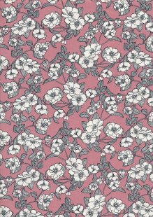 Rose & Hubble - Quality Cotton Print CP0756 Rose