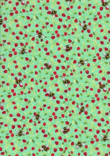 Rose & Hubble - Quality Cotton Print CP0867 Meadow Bees