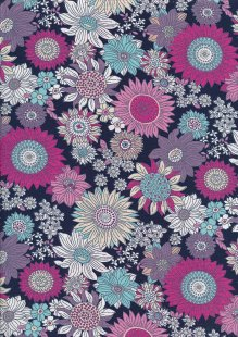 Rose & Hubble - Quality Cotton Print CP-0736 Copen