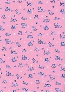 Rose & Hubble - Quality Cotton Print CP-0856 Pink