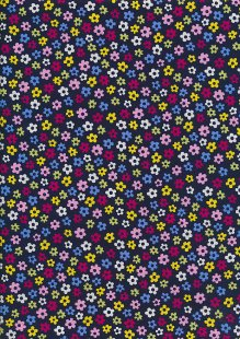 Rose & Hubble - Presssed Flower Multi Navy