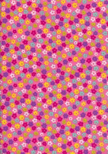 Rose & Hubble - Presssed Flower Multi Pink