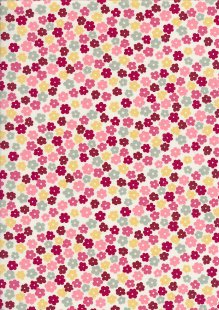 Rose & Hubble - Presssed Flower Green, Yellow & Pink Cream