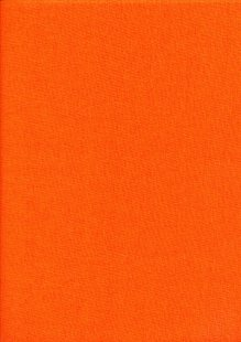 Rose & Hubble - Rainbow Craft Cotton Plain Orange 18