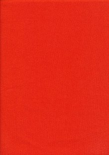 Rose & Hubble - Rainbow Craft Cotton Plain Paprika 20