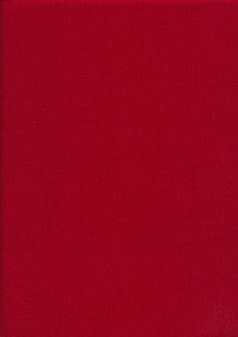 Rose & Hubble - Rainbow Craft Cotton Plain Crimson 33