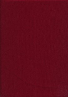 Rose & Hubble - Rainbow Craft Cotton Plain Claret 34