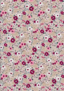 Rose & Hubble - Floral Collection On Brown