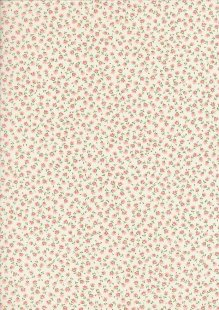 Sevenberry Japanese Ditsy Floral - Pale Pink
