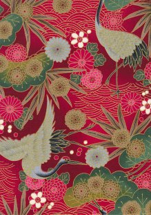 Authentic Gilded Japanese Fabric - 103