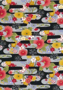 Authentic Gilded Japanese Fabric - 113
