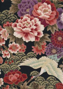 Authentic Gilded Japanese Fabric - 120