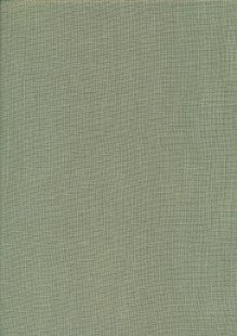 Sevenberry Japanese Linen Look Cotton - Plain Dusty Green