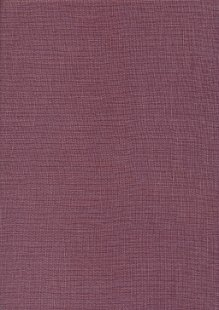 Sevenberry Japanese Linen Look Cotton - Plain Puce