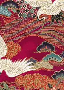 Sevenberry Japanese Fabric - HR 3290R 11c