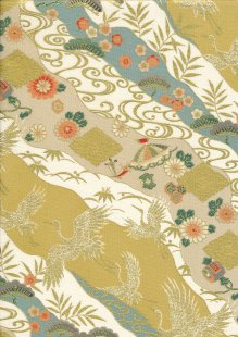 Sevenberry Japanese Fabric - HR 3290R