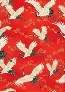 Sevenberry Japanese Fabric - HR 3290R 13c