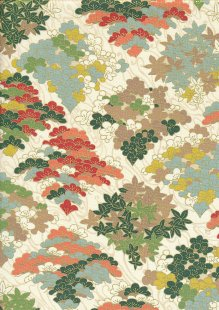 Sevenberry Japanese Fabric - HR 3290R 14a