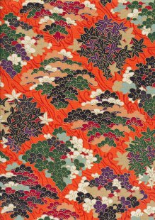 Sevenberry Japanese Fabric - HR 3290R 14c