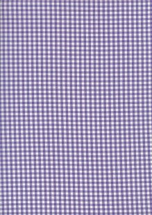 Seven Berry Japanese Fabric - Purple Gingham