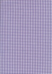 Seven Berry Japanese Fabric - Purple 2 Gingham
