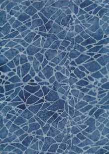 Sew Simple Bali Batik - Blue SSHH134-18#11A