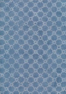 Sew Simple Bali Batik - Blue SSHH393-28#11B