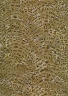Sew Simple Bali Batik - Green SSHH135-18#25B