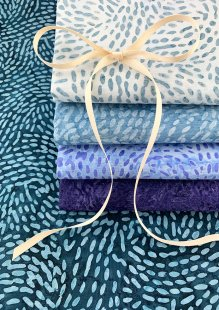 Sew Simple Bali Batik - 5 x Fat 1/4 Pack A19-50